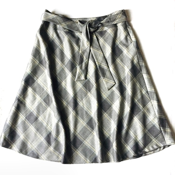 Pendleton Dresses & Skirts - Pendleton Virgin Wool A-line Plaid Midi Skirt 16